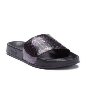 Puma Women Sandals Leadcat Open Toe Slip Size 7.5